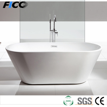 Freestand Acrylic Bathtub With 5mm Thickness Acrylic,White Standing ...