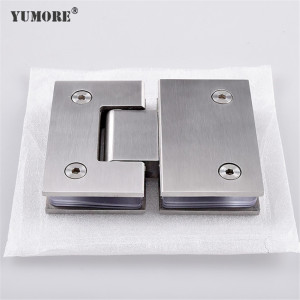 Glass door accessories stainless steel shower hinges for glass