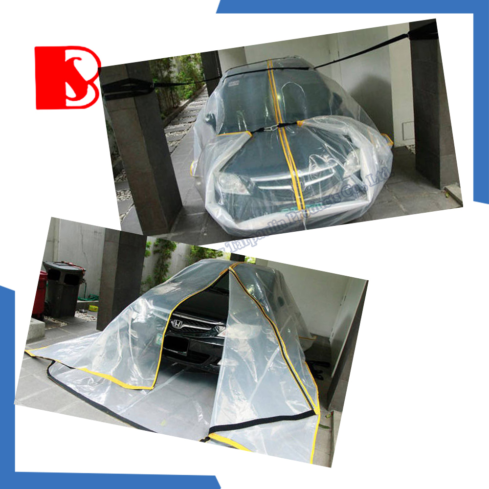 pe fabric flood car bag cover with high quality
