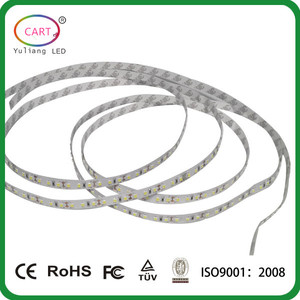 waterproof outdoor 3 w 110v led strip light / easy install whole kits led tape light