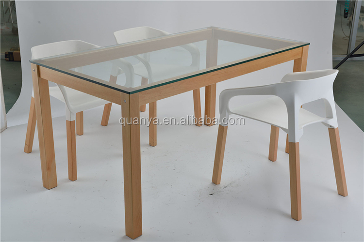 Wooden Dining Table With Glass Top Designs Wooden Dining Table
