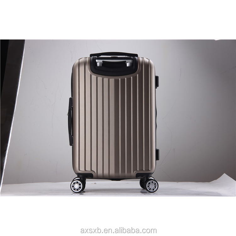 fashionable zipper decent brand antique suitcase luggage