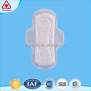 Soft feel feminine hygiene disposable belted sanitary napkin for women day and night use