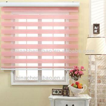 blind roller baby luna pink blackout blinds