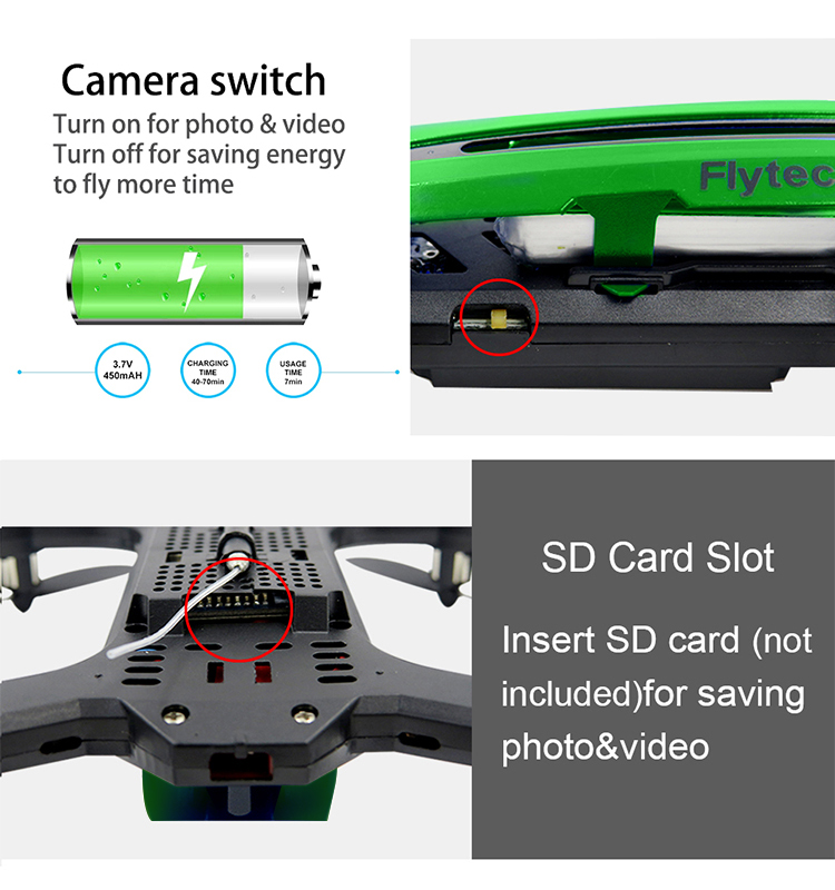 12. T18D_Green_Racing_Drone_with_Altitude_Hold_WIFI_FPV_RC_Drone