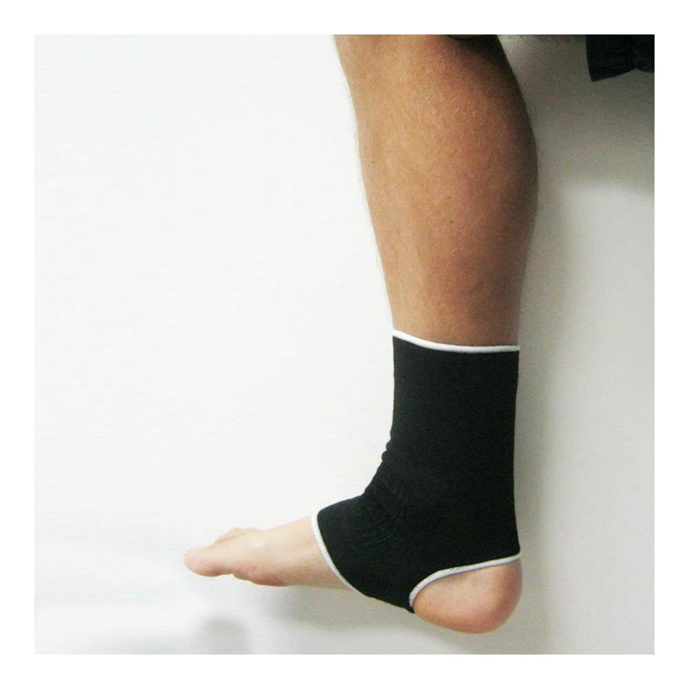 3dff6e3285aa 2 Ankle Support Brace Elastic Compression Wrap Sleeve Sports Relief Pain  Foot