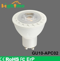 Factory whole sale GU10 LED Plastic and aluminum GU10 5w/7w bulb