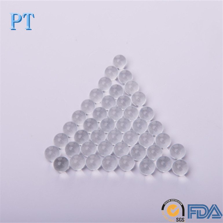 1/8''3.175mm wholesale clear round glass balls for ornaments