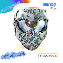 Military camouflage bullet proof mask custom factory paintball mask camo paintball mask