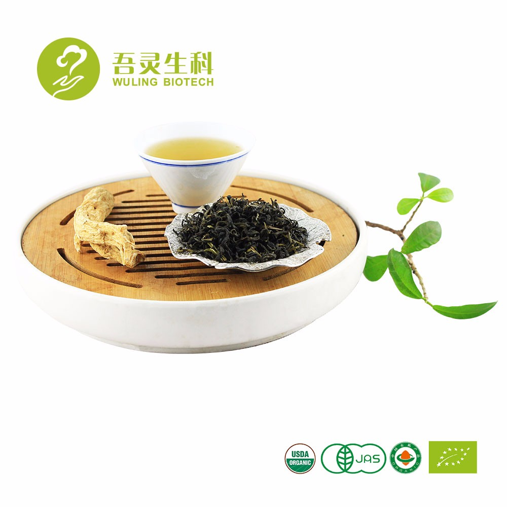 Chinese Classic Tea Leaves Ganoderma Reishi Ginseng China Green Tea - 4uTea   4uTea.com