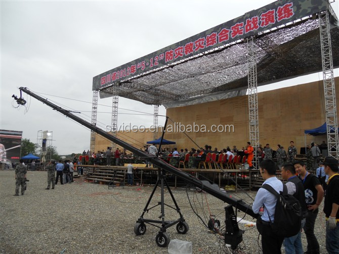 8m(26ft) jimmy jib crane for sale