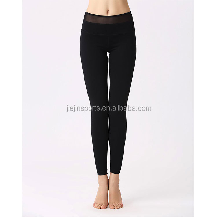 Christmas Women Custom Made Yoga Pants Wholesale Black Mesh Inset Yoga Tights Compressed Leggings Buy Private Label Yoga Pants With Mesh Design Xxx