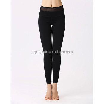 f8bbe12bfe Christmas women custom made yoga pants wholesale black mesh inset yoga  tights compressed leggings