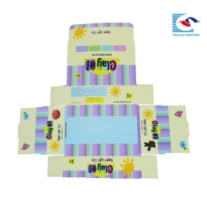 custom Cardboard Paper Printed Corrugated Counter Display Box/stationery organizer