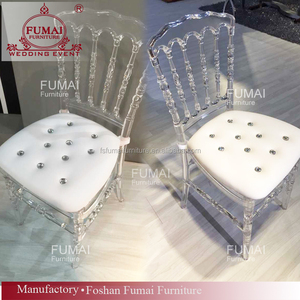 the cheapest china wholesale clear transparent napoleon acrylic wedding chair