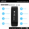 OEM/ODM customized digital calorie and step counter with led light China smartwatch for android & iOS
