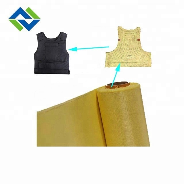 Chinese manufacturer high quality heat resistance PTFE coated KEVLAR fabric