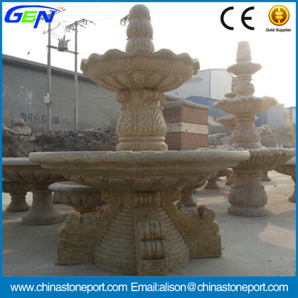 High Quality Natural Stone Water Fountain