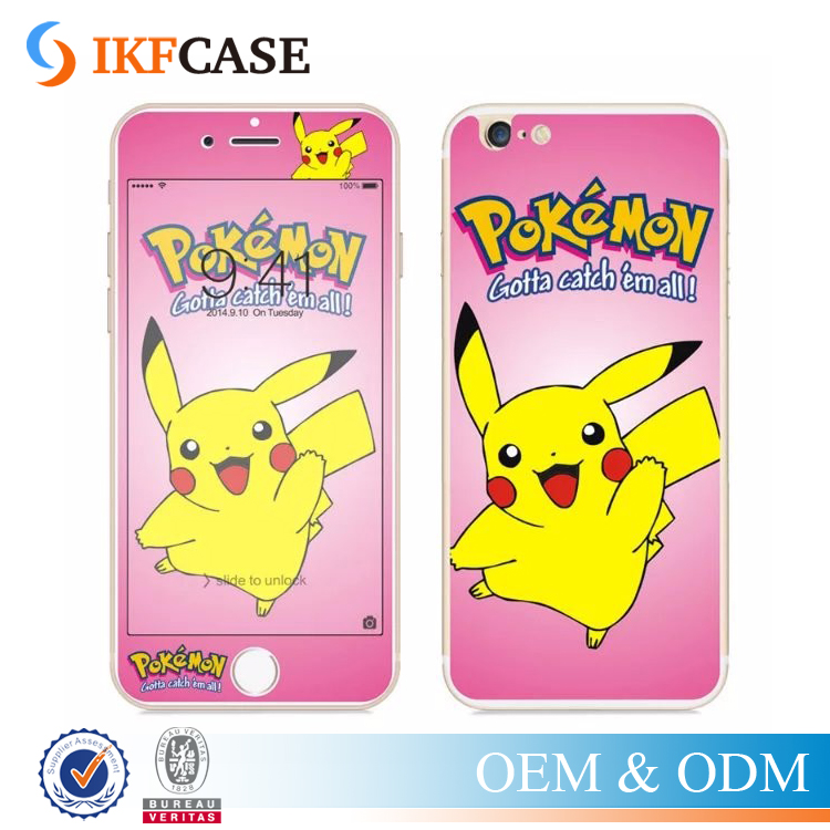 Custom Made Pokemons Go Premium Tempered Glass Screen Protector for iPhone 7