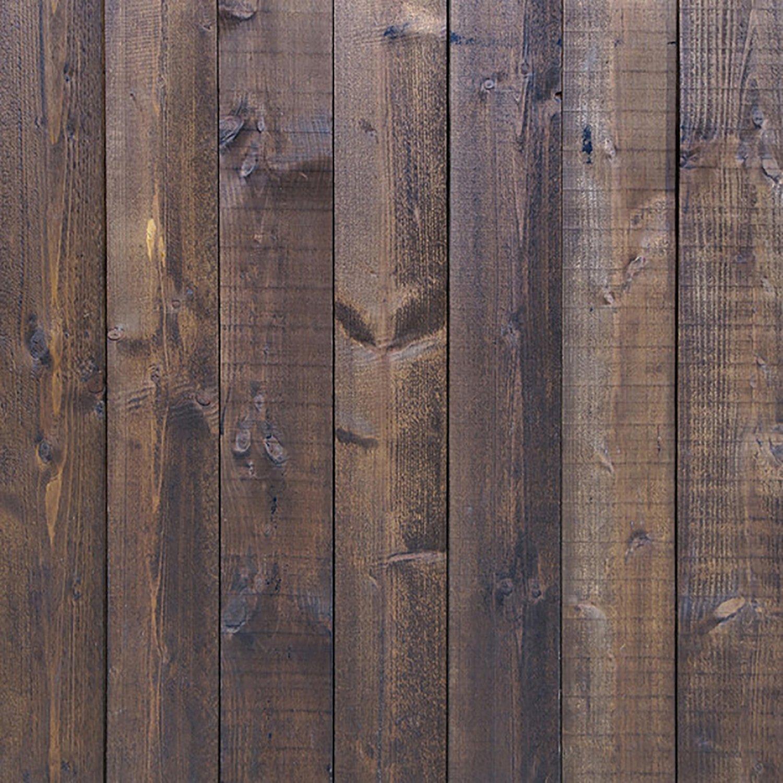 Fovitec studiopro photography studio background vinyl backdrop deep dark brown wood floor 3 ft x