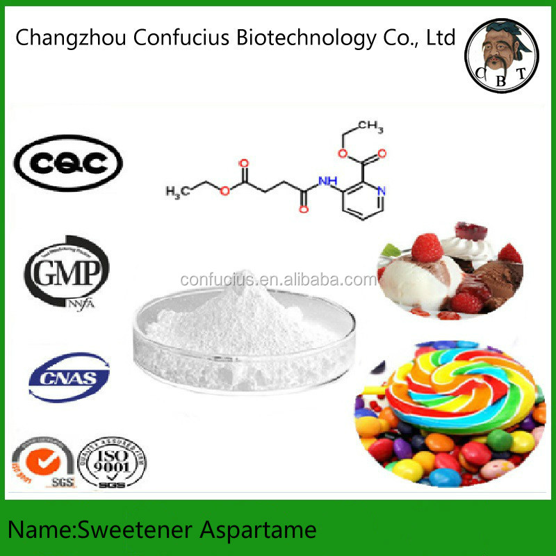 GMP 99.8% Purity Factory Price Food Additives Sweetener Aspartame