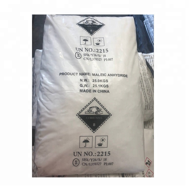 Maleic Anhydride 99.5% colorless or white solid with an acrid odor <strong>chemicals</strong>