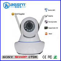 BESNT Factory Direct selling wireless P2P IP cameras wifi PTZ cctv IP camera free cms software BS-IP26V