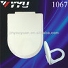 China promotion shape soft close sanitary seat cover 1067