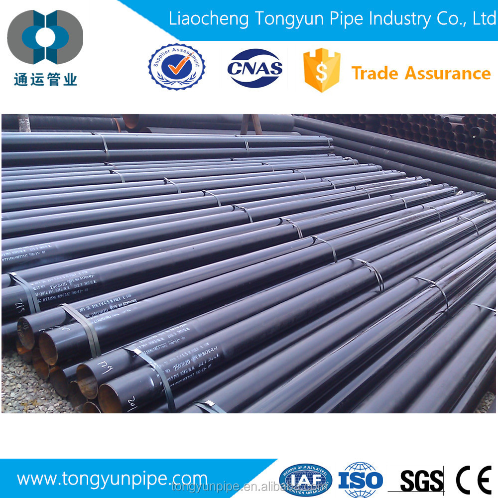 ASTM A254 ERW double wall bundy welded steel pipe for hydraulic pipe