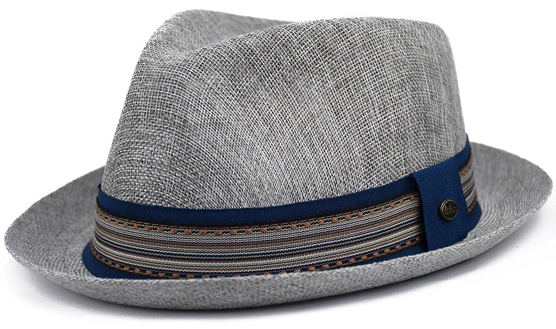 cf99e52638d Buy Stetson Mens Palmdale Stingy Brim Linen Hat