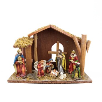 finest selection ae643 b3419 Christmas Outdoor Christmas Nativity Sets With Wooden Stable - Buy Nativity  Set With Wooden Stable,Cheap Nativity Set,Outdoor Christmas Nativity Sets  ...