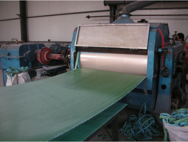 Tension Red Free Asbestos Thin Rubber Sheet In Medium Of Steam ...