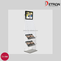 2016 Promote your popular titles with our range of Acrylic Bookstands R160579