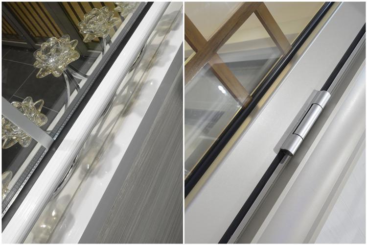 Alluminio singola finestra appesa doppi vetri in - Finestre doppi vetri ...
