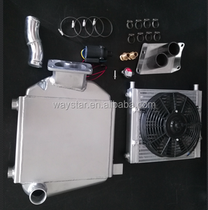 water to air type 1HDT intercooler for toyota landcruiser 1HDT