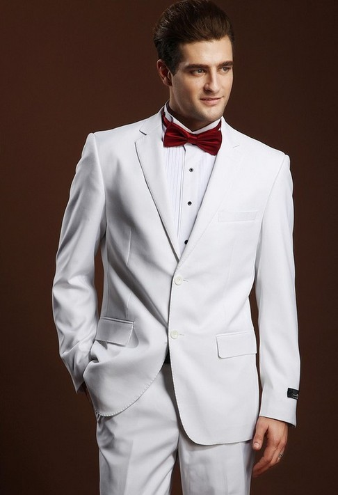latest white pant coat design men wedding suits pictures, View ...