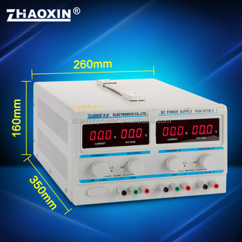KXN-3030D-II ZHAOXIN Dual adjustable DC power supply with CE approved factory