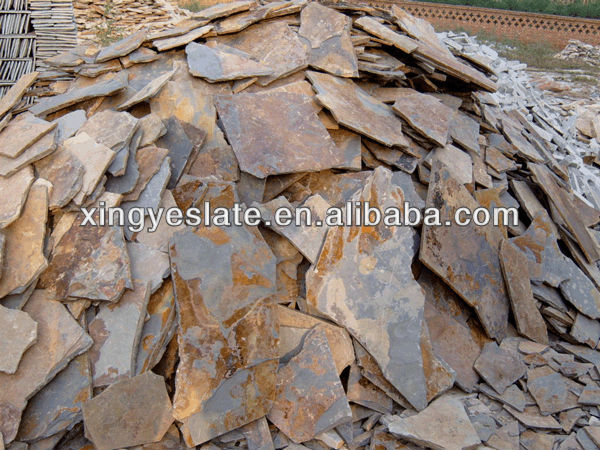 Rusty Random paving stone material supplier