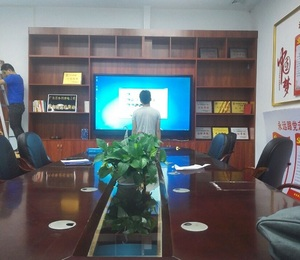 55-86 inch all in one PC for office meeting ,conference touch screen smart white board in windows OS