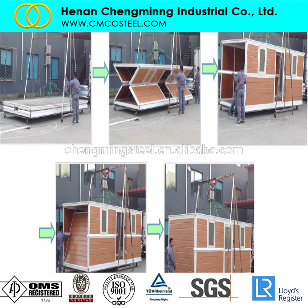Custom Shipping Container Car Garage: Hot Sale Foldable Shipping Container Garage