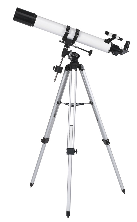 Sky Telescope FT80900EQ-A Alibaba China Supplier,New Product Telescope Tripod+Paper Box Packaging