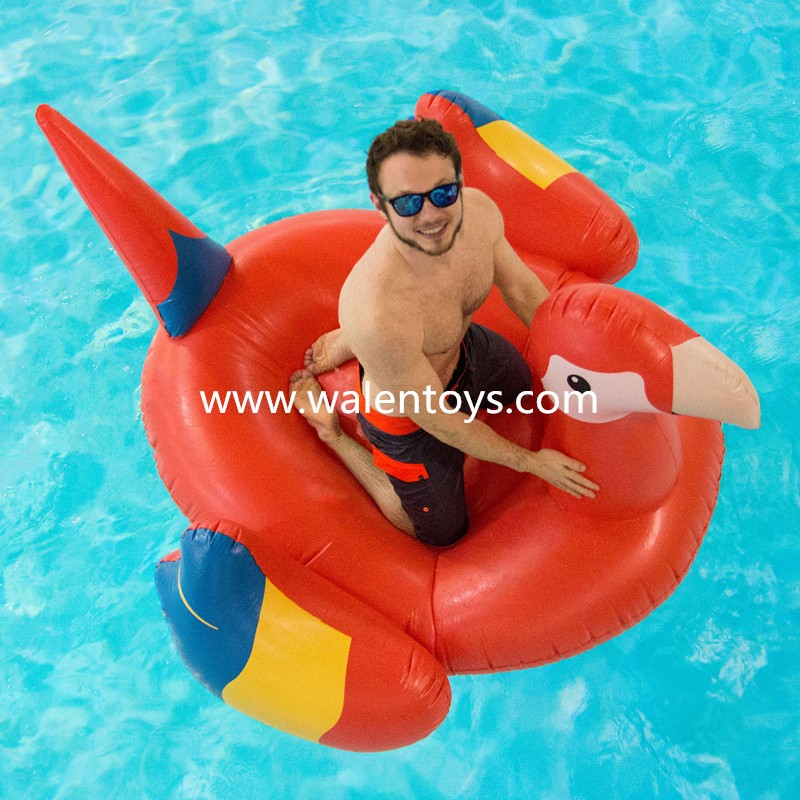 Swan Pool Float Inflatable Swimming Kids Giant Toy Duck