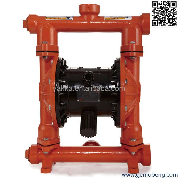 High Volume low pressure wilden double diaphragm pump alike Diaphragm Metal Air operated double Pump