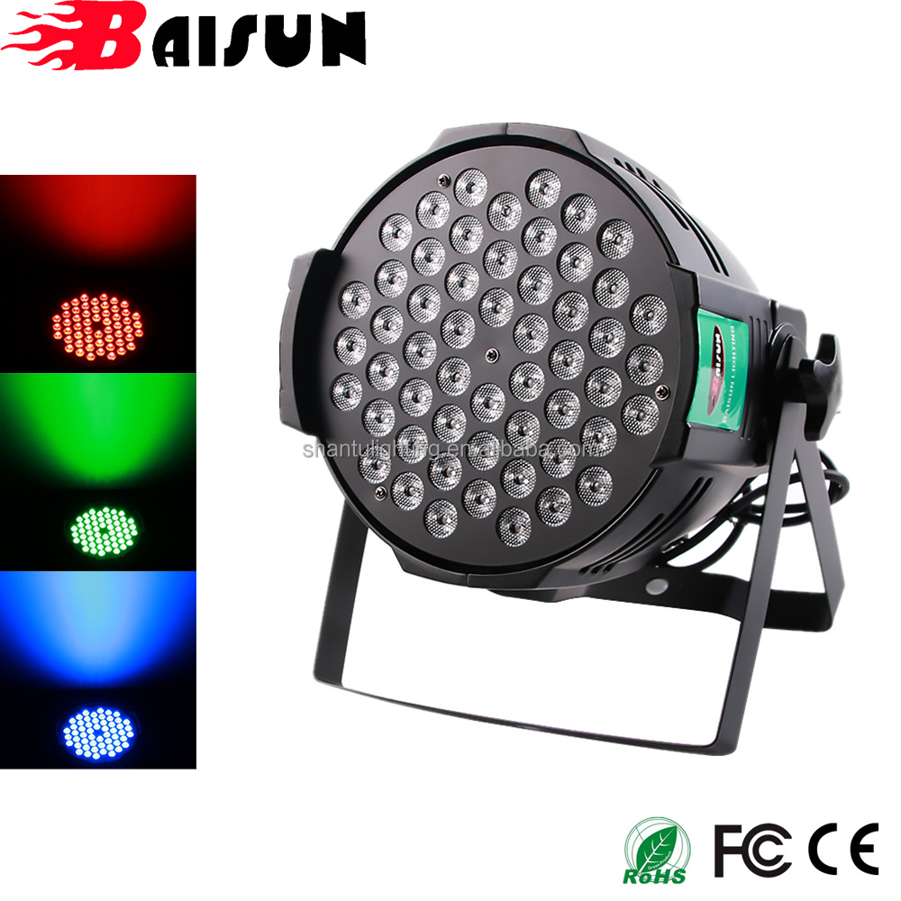 Hot In India Baisun Led Party Lights Par 54 Rgb 3in1 Can For Disco