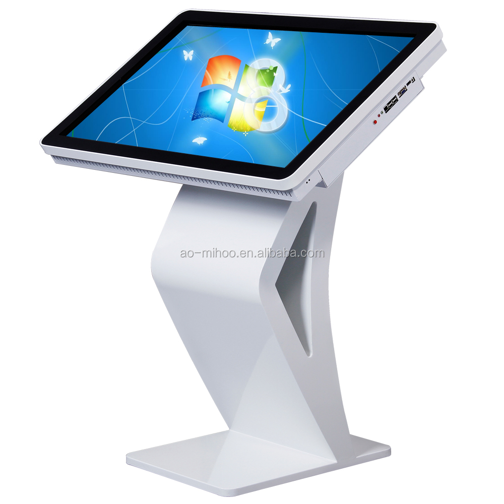 43 inch lcd interactive table display monitor