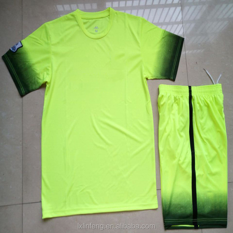 Wholesale football team clothing, sublimation printing soccer jersey