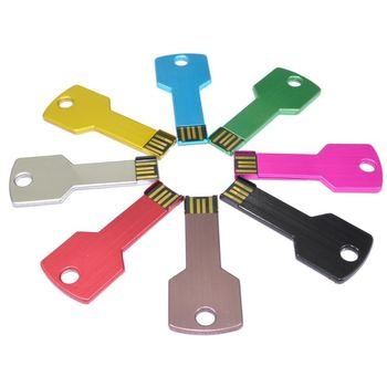 Key shape usb flash drive 2.0 3.0 with different logo good quality thumb drive memory stick