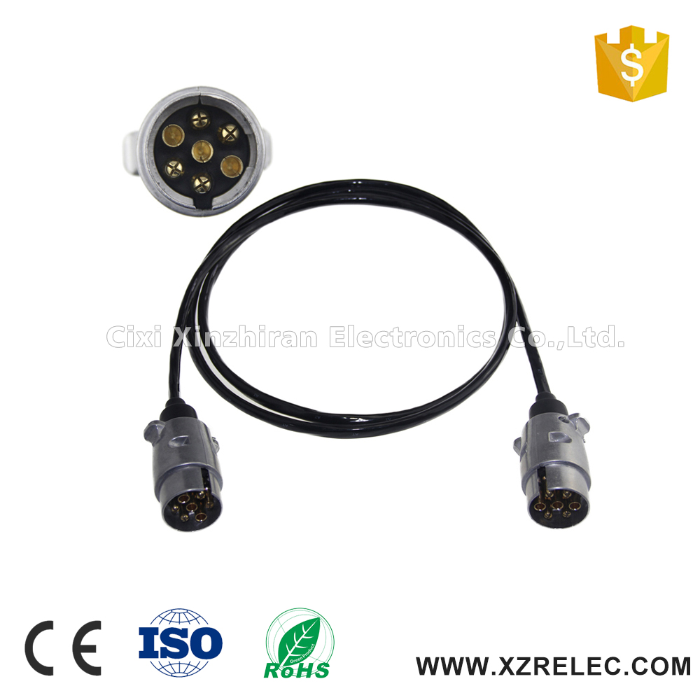 7 Way Conductor Trailer Light Cable Tractor Trailer Cable - Buy Trailer Cable,Tractor Trailer Cable,Light Cable Tractor Trailer Cable Product on ...