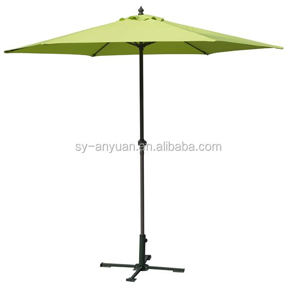 Anti Uv Bamboo Outdoor Beer Garden Furniture Patio Umbrella Sun