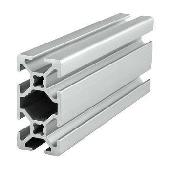 Accessories available extruded T slot aluminum 80/40 40x80 aluminum extrusion